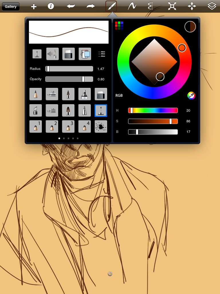 how to add brushes to sketchbook pro